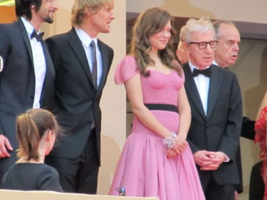 MIDNIGHT IN PARIS premier, Cannes