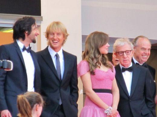 MiDNIGHT IN PARIS premier, Cannes