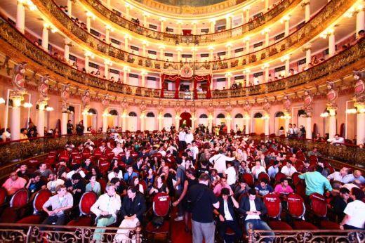 Bruno Chatelin and Leopoldo Sotto at The Opera House - Teatro Amazonas
