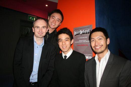 Steve Flynn, Boo Junfeng, Joshua Tan and Brian Tan @ [SIN]efest