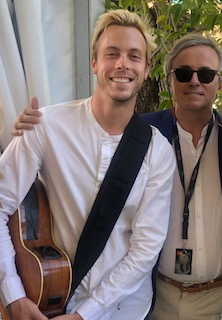 Interview with Musician, Actor, Director Riker Lynch at 74th Cannes Film Festival