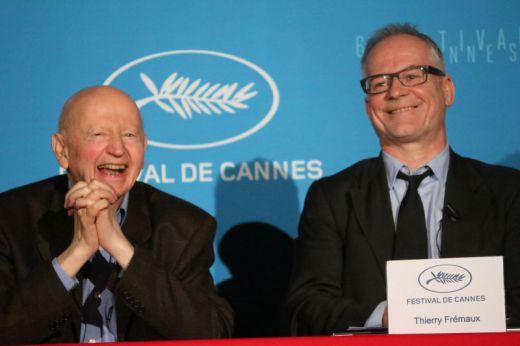 Thierry Fremaux et Gilles Jacob