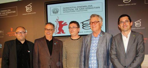 Dieter Kosslick,Thomas Struck,Joxe Mari Aizega,Andoni Luis Aduriz,José Luis Rebordinos