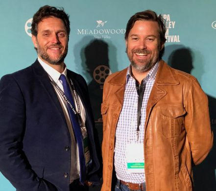 Nick Pollack and Aaron Bush from 'And Though the Music Ended, We Danced On Through the Night' (2017)