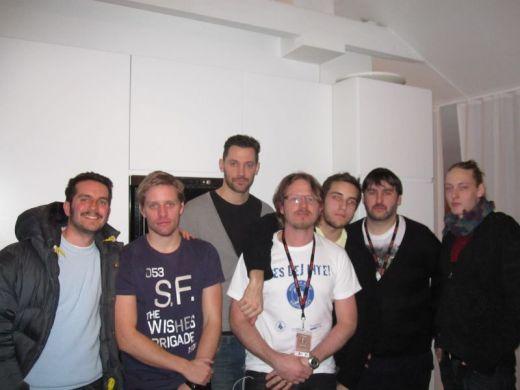 """Stay Down!"" cast/crew at Göteborg International Film Festival"