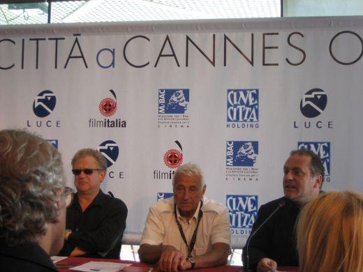 Pascal Vicedomini press conference