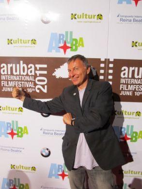 Milcho Manchevski in Aruba