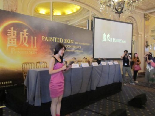 PAINTED SKIN II press conference, Cannes 2012