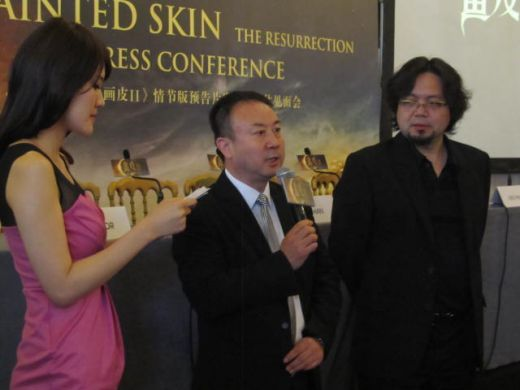 PAINTED SKIN II press conference at the 65th Cannes Film Festival