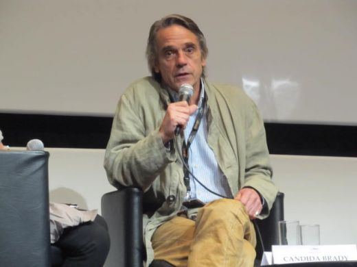 Jeremy Irons speaks about 'TRASHED' (2012) at 65th Cannes!