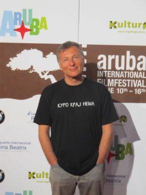 Milcho Manchevski in Aruba, AIFF 2011