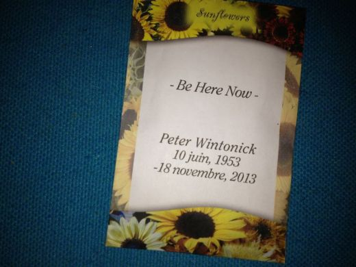 Sunflowers in Montreal Gardens Will Bloom for Peter Wintonick