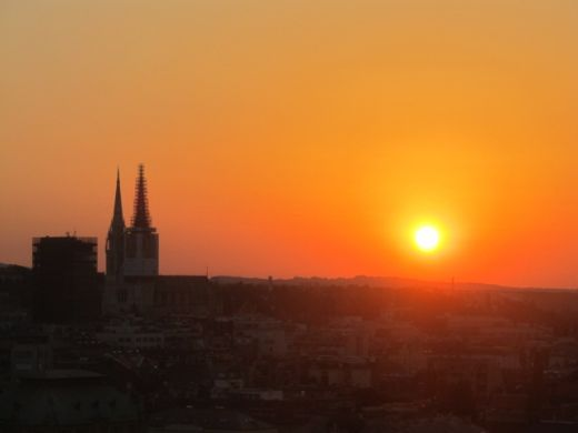 Fantastic Zagreb sunrise.