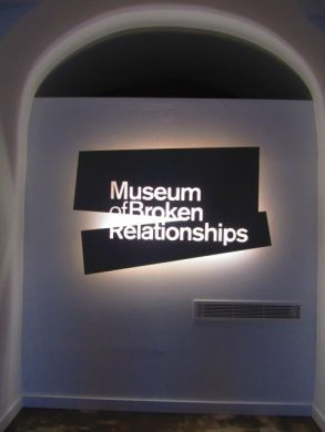Museum of Broken Relationships: voted 'Coolest museum in Europe'!