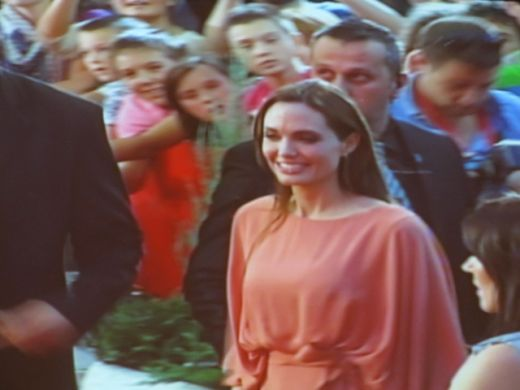 Angelina Jolie and Brad Pitt at SFF
