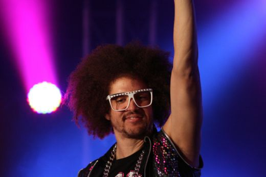 Take 40 Live Lounge with LMFAO At The Entertainment Quarter, Moore Park, Sydney