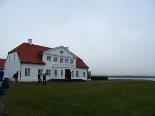 In Iceland's president's house with RIFF