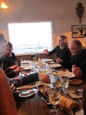At dinner, RIFF 2011