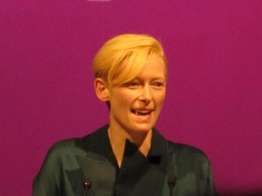 Tilda Swinton at ADFF 2011