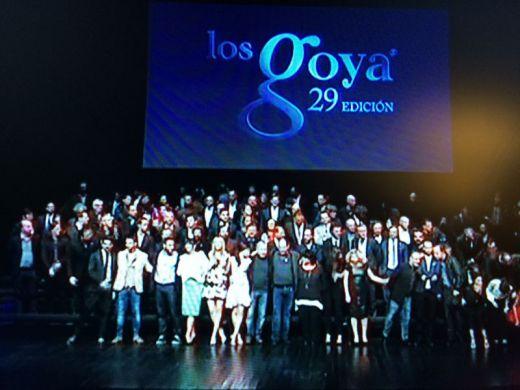 29th Goya Awards nominees