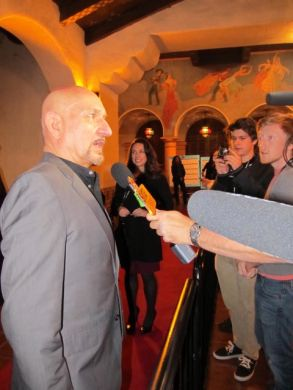 Sir Ben Kingsley at 27th SBIFF, 2012