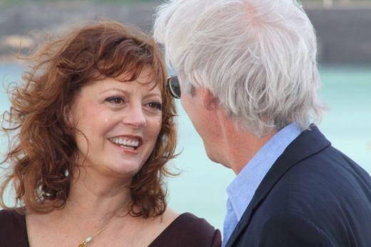 Susan Sarandon & Richard Gere in San Sebastian fest