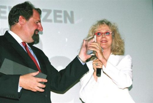 Blythe Danner Receives RIIFF 2008 Creative Vision Award