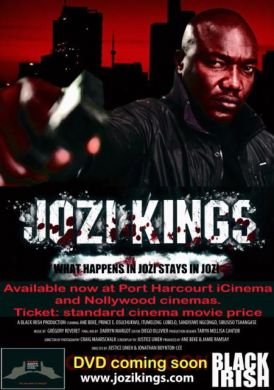 Jozi Kings Nominated for Best Action Film and Best Screenplay