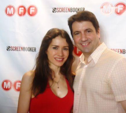 Juliette Bennett and Ken Forman