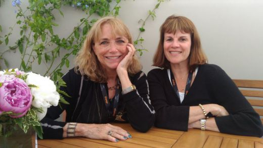 Karen Allen and Diane Pearlman
