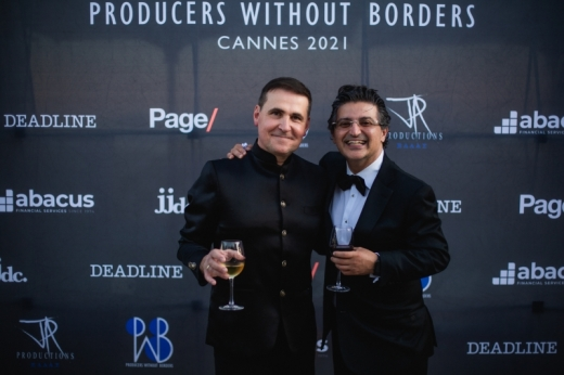 Interview with Producer James P. Axiotis at the 74th Annual Cannes Film Festival