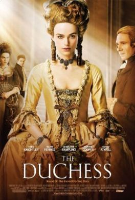 Keira Knightley as THE DUCHESS
