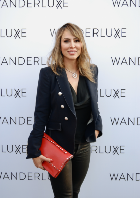 Kelly Dodd and more at Napa Valley Film Fest WanderLuxxe Lounge