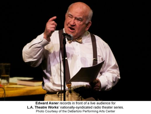 Backstage interview with Ed Asner