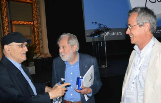 Serge Losique, David Puttnam and Bruno Chatelin MWFF 2015