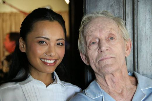 Levy Tran and  Lance Henriksen
