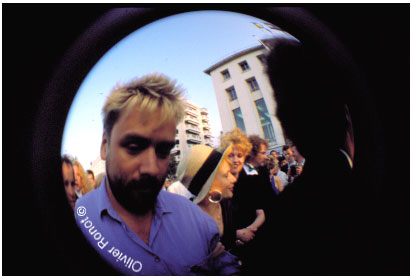 Luc Besson in Cannes