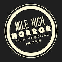 Mile High Horror Film Fesitval Dark Logo