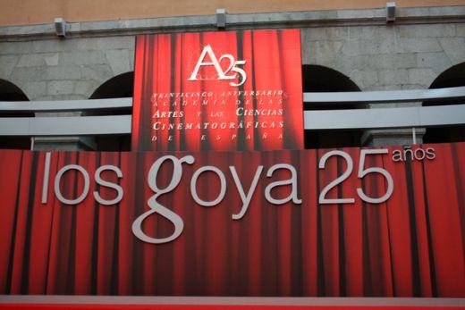Goya Awards nominees reception