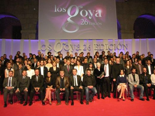 Nominees to the 26th Goya Awards