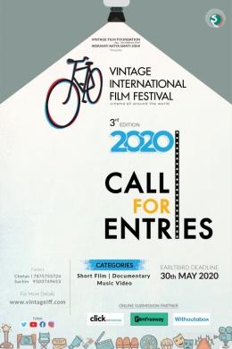 3rd Vintage International Film Festival,2020