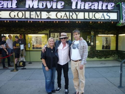Things That Go Bump in the Night In Hollywood--Gary Lucas, Lucy Chase Williams and Bill Moseley