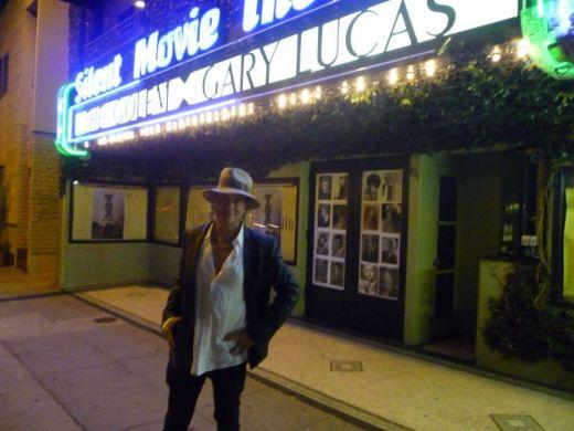 Outside the Silent Movie Theatre LA 7/17/12