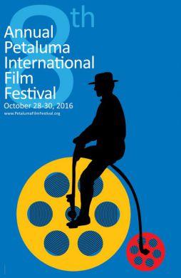 Official Poster of the 8th Annual Petaluma International Film Festival
