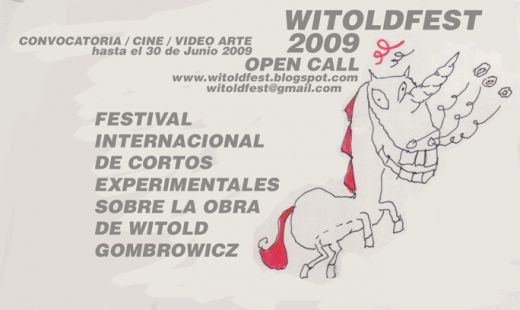 WITOLDFEST VIDEO ART FEST ABOUT WITOLD GOMBROWICZ