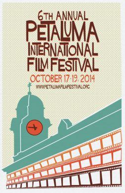 2014 Official Poster of the 6th Annual Petaluma International Film Festival