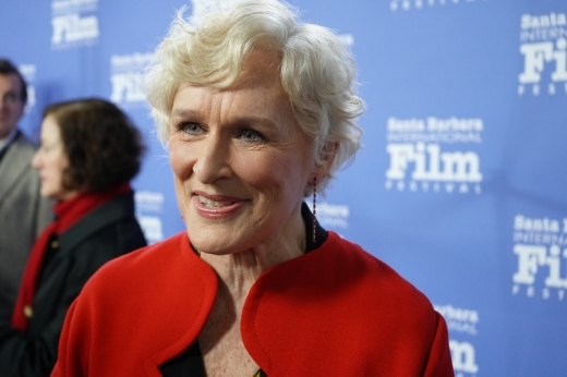 Glenn Close Interviewed in Santa Barbara for her homage
