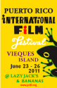 Puerto Rico International Film Festival Vieques Island