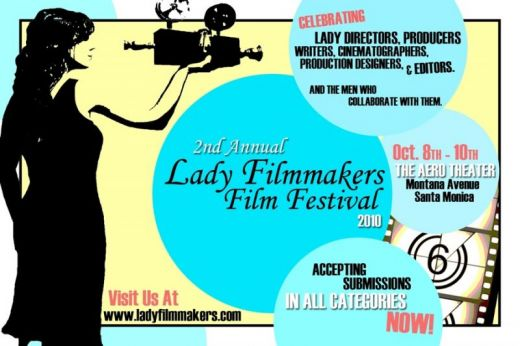 2nd Annual Lady Filmmakers Film Festival Call For Entries Poster