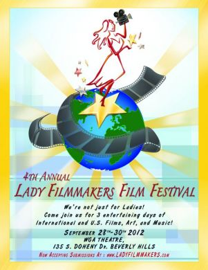 4th Annual Lady Filmmakers Film Festival Poster